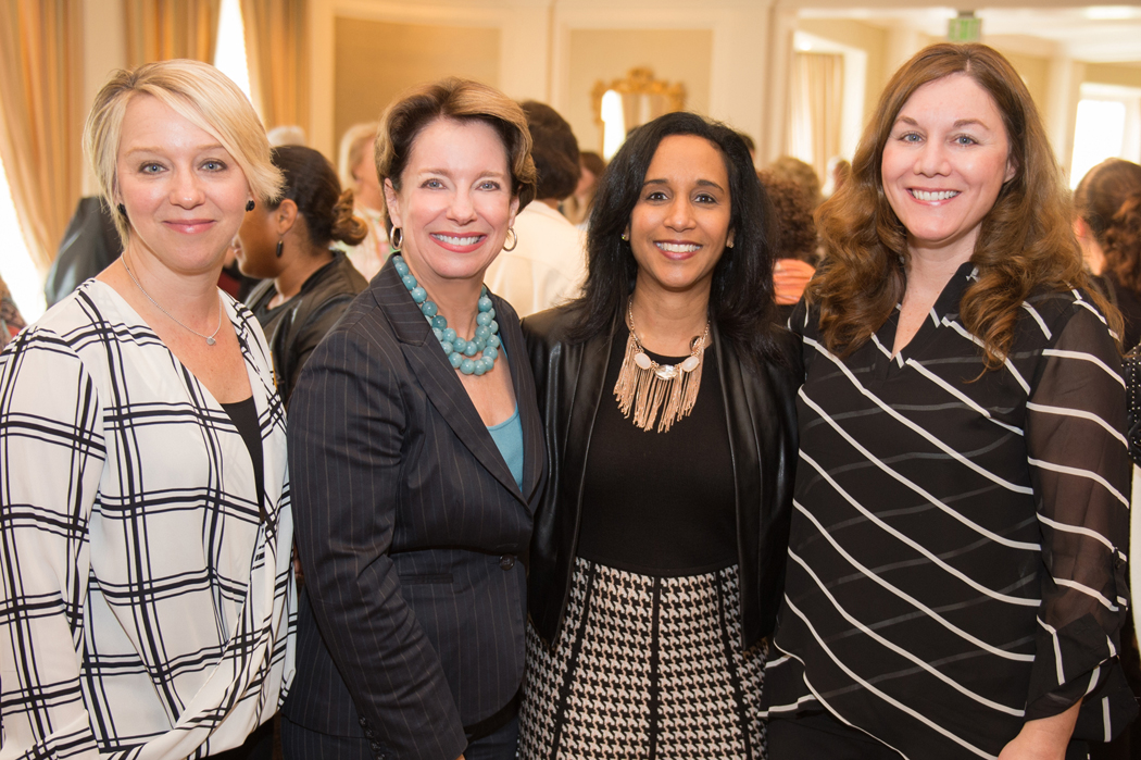 Sicily Dickenson, Executive Director Tammie Kahn, Angela Fullen and Karen Harvie