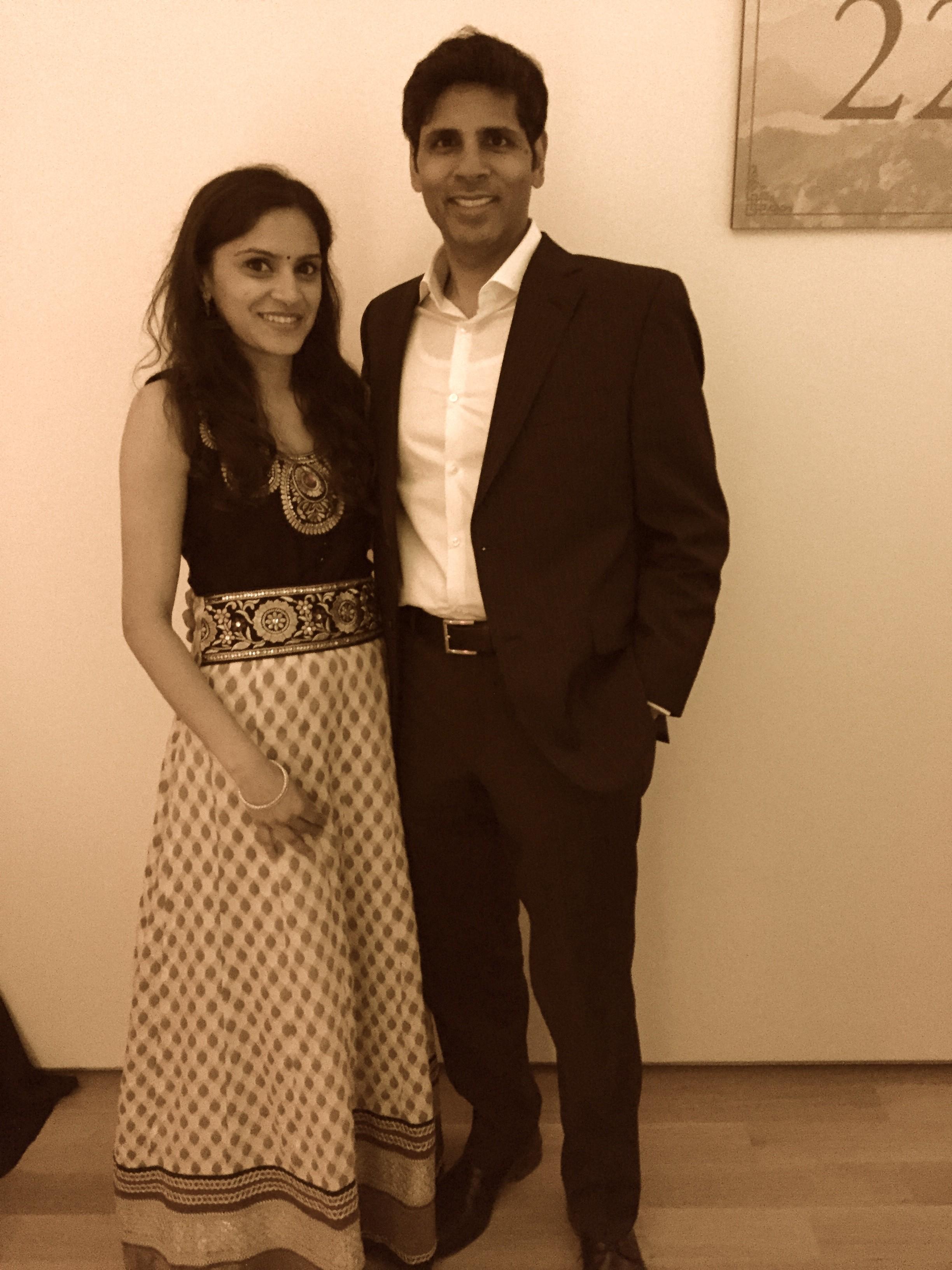 Vanitha & Bharat Pothuri