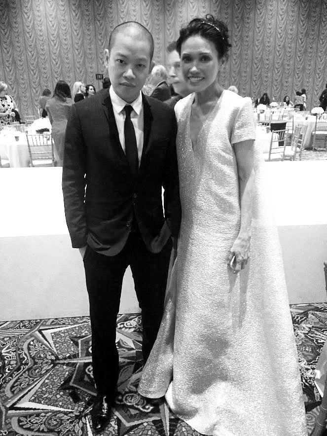 Jason Wu with 2015 Best Dressed Honoree Duyen Nguyen