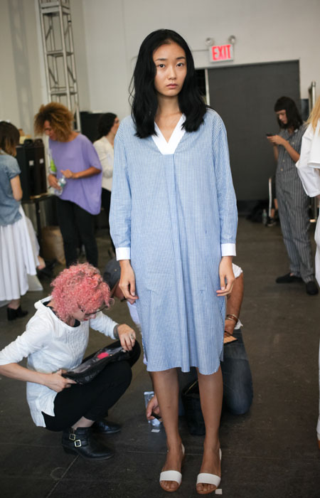 Backstage looks at Steven Alan