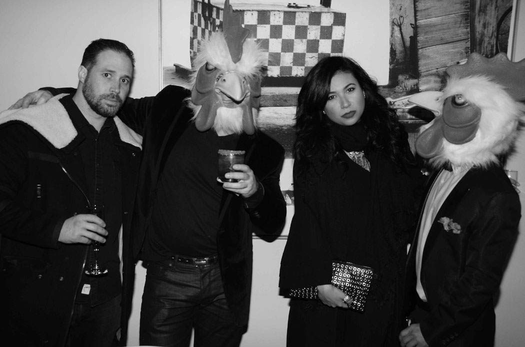 Collin Kelly, Henri Merceron, Leslie Rivas-Kelly, Viet Hoang