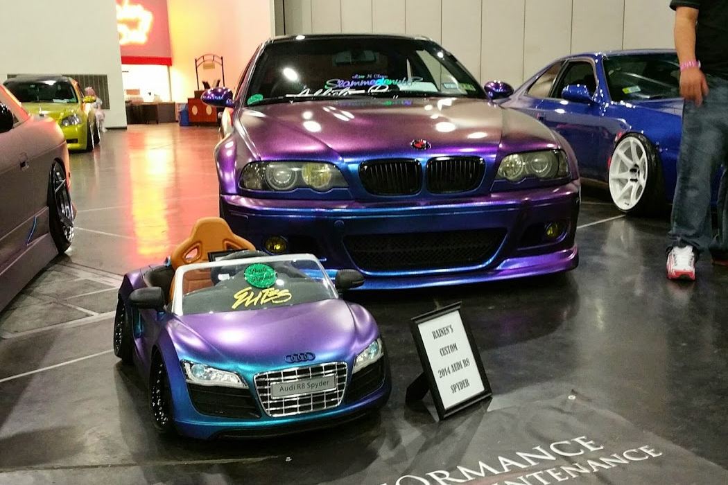Rice Bowl 2015 Car Show held at Anime Matsuri by Mayday Garage