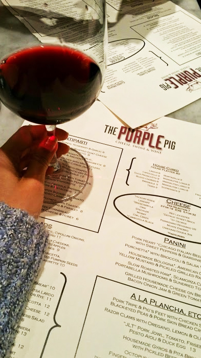 The Purple Pig - French style wine bar and small plates - 500 N Michigan Ave, Chicago, IL 60611