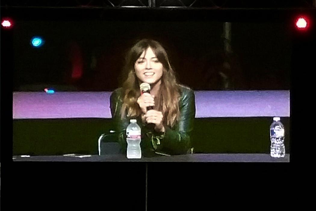 Chloe Bennett Panel