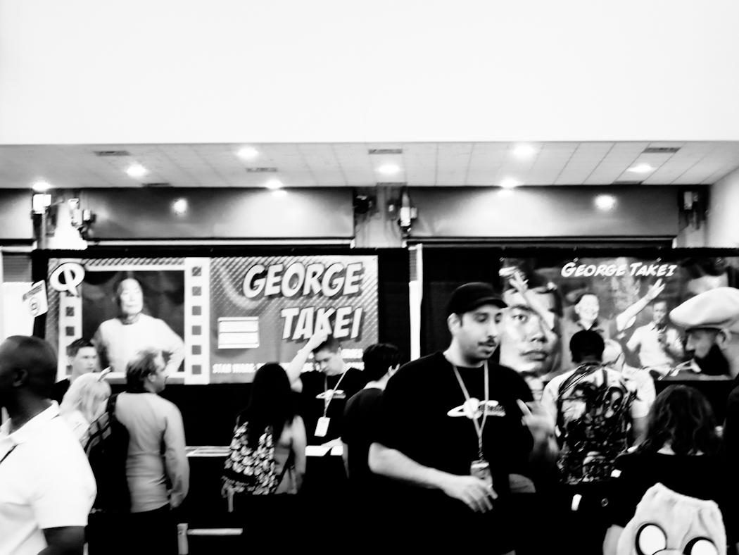 George Takei Autograph Line