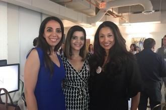 Dr. Sanaz Harirchian, Layla Asgari and Nancy Almodovar
