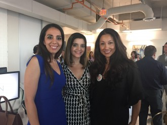 Dr. Sanaz Harirchian, Layla Asgari and Nancy Almodovar
