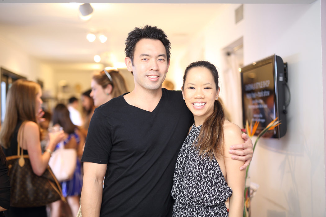 Eric Hwang and Karine Ho