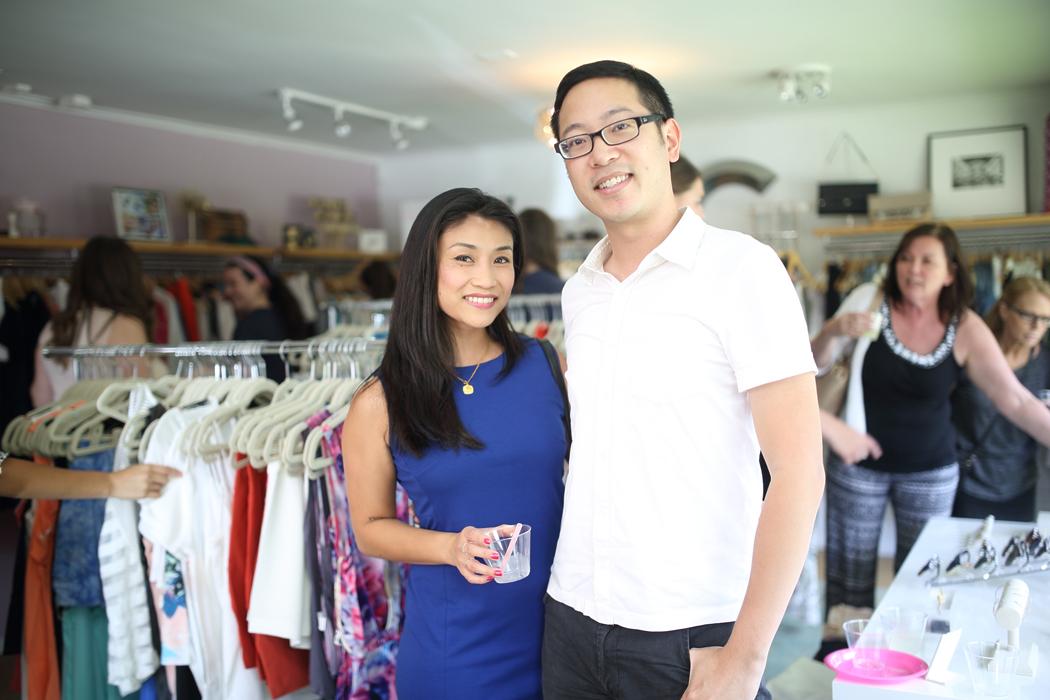 Erica Ho and Andrew Nguyen