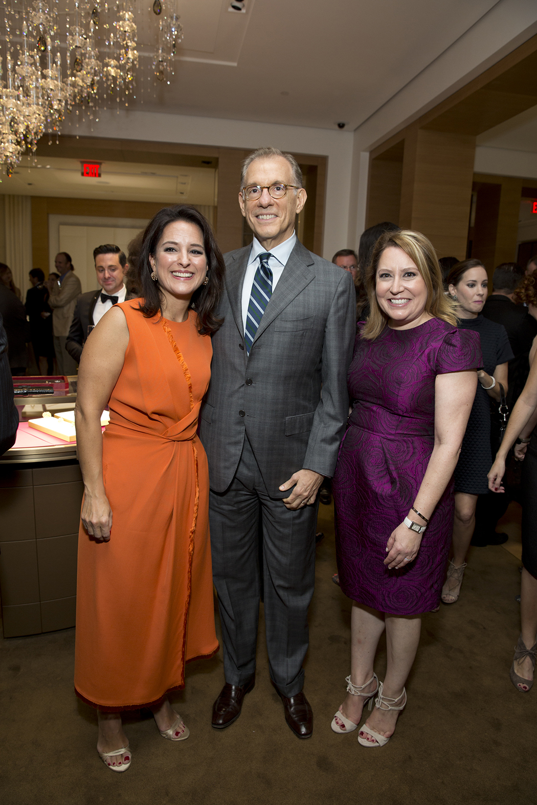 Mercedes Abramo, Gary Tinterow, Kari Gonzalez photo by: Jenny Antill Clifton