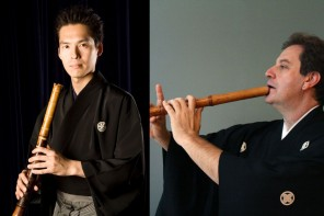 ROCO premiere's 50th commission featuring Japanese flutes