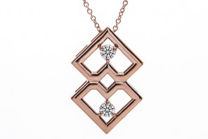 Duet Pendant by Brian Gavin Diamonds