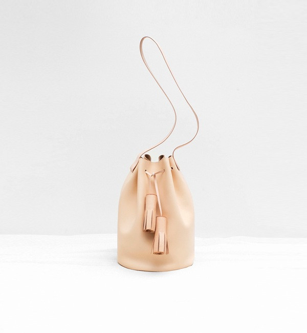 Building Block Nude Bucket Bag, available at Myth & Symbol