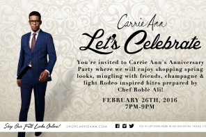 Carrie Ann's Anniversary Party