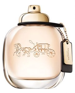 Coach COACH Eau de Parfum is inspired by the spontaneous energy and downtown style of New York City. A fragrance full of contrasts, opening with bright, sparkling raspberry, giving way to creamy Turkish roses, before drying down to a sensual suede musk base. Macy's, $75 1.7 oz