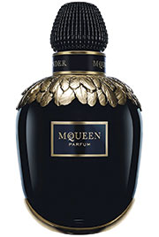 mcqueen Inspired by the craftsmanship of haute perfumerie, McQueen has created a unique scent made from the precious essence of three night-blooming flowers: Sambac Jasmine, Tuberose and Ylang Ylang. Saks Fifth Avenue exclusive, $395 1.6 oz
