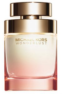 Michael Kors Wonderlust Let desire lead the way with this deeply romantic blend of luxurious blossoms mingled with delectably spiced notes that melt into a warm finish of exotic woods. Macy's, $88 1.7 oz