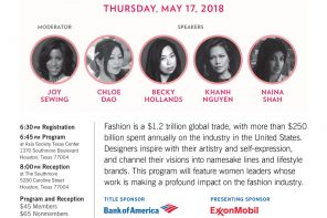 Women in Fashion – Asia Society Event