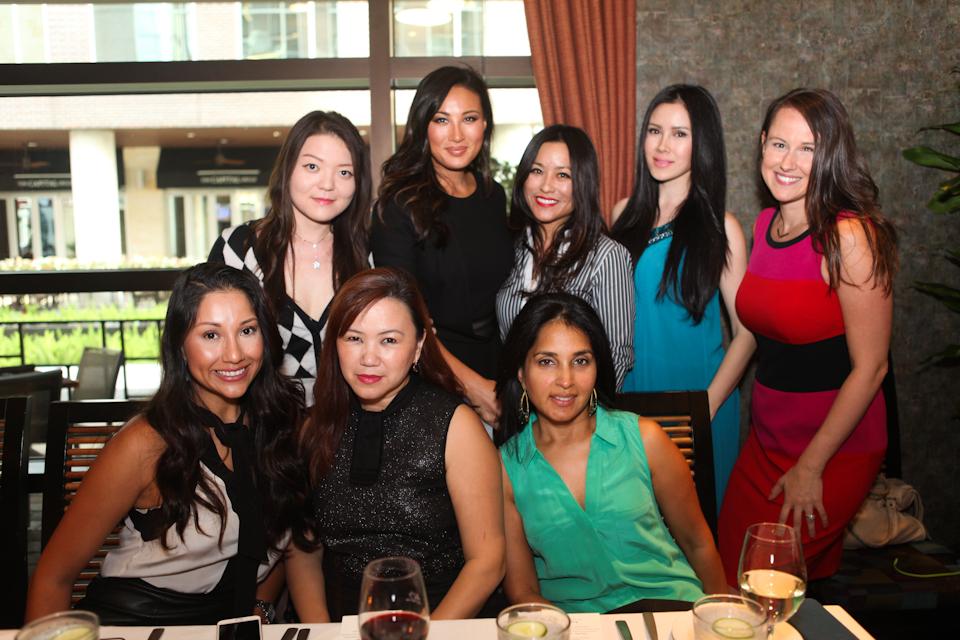 Top Row: Kylie Sun, Mina Chang, Gina Li, Cindy Cheng, Kate Watson Bottom Row: Nancy Almodovar, Tammy Tran Nguyen, Swati Narayan