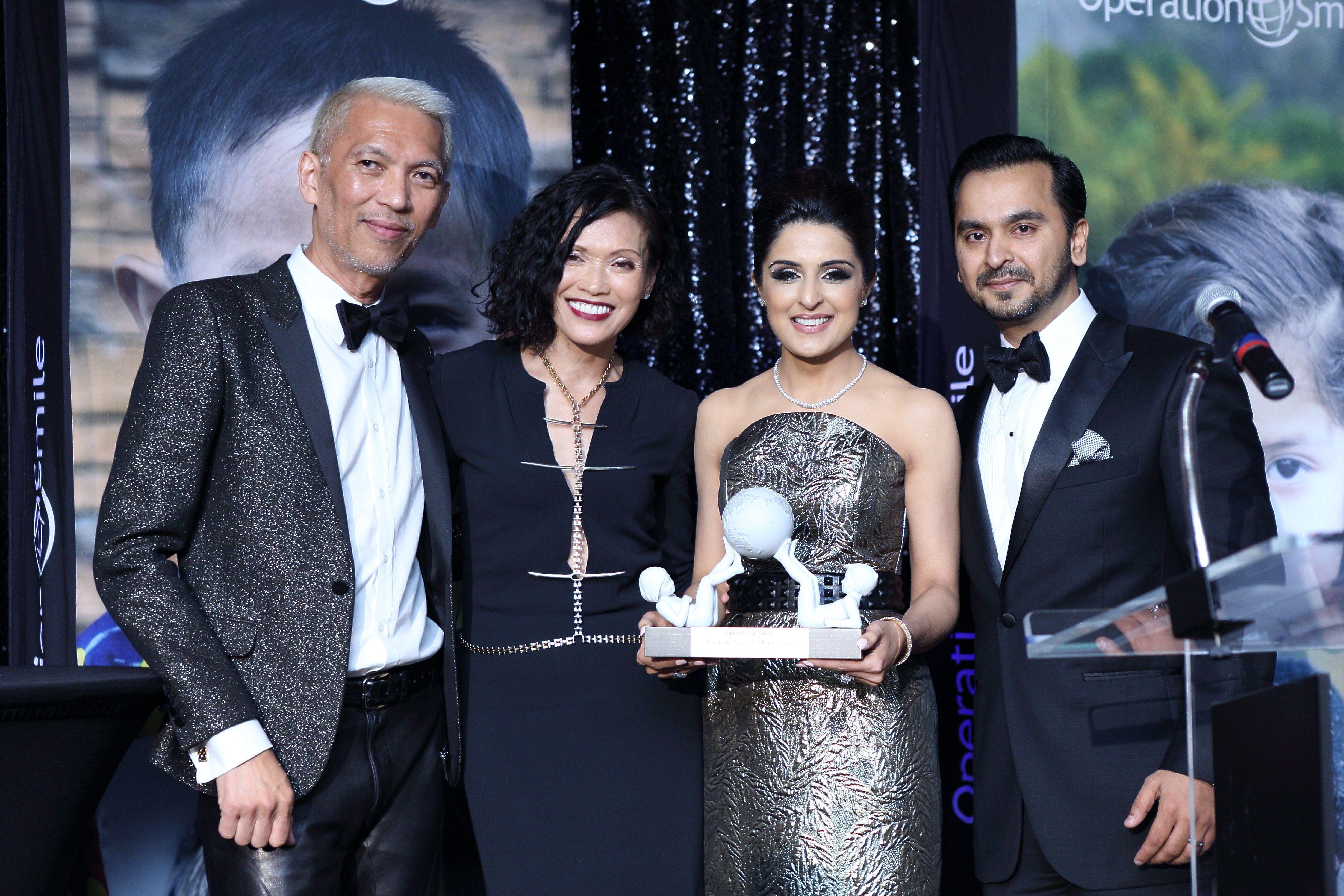 Marc and Duyen Nguyen, Sneha and Nick Merchant