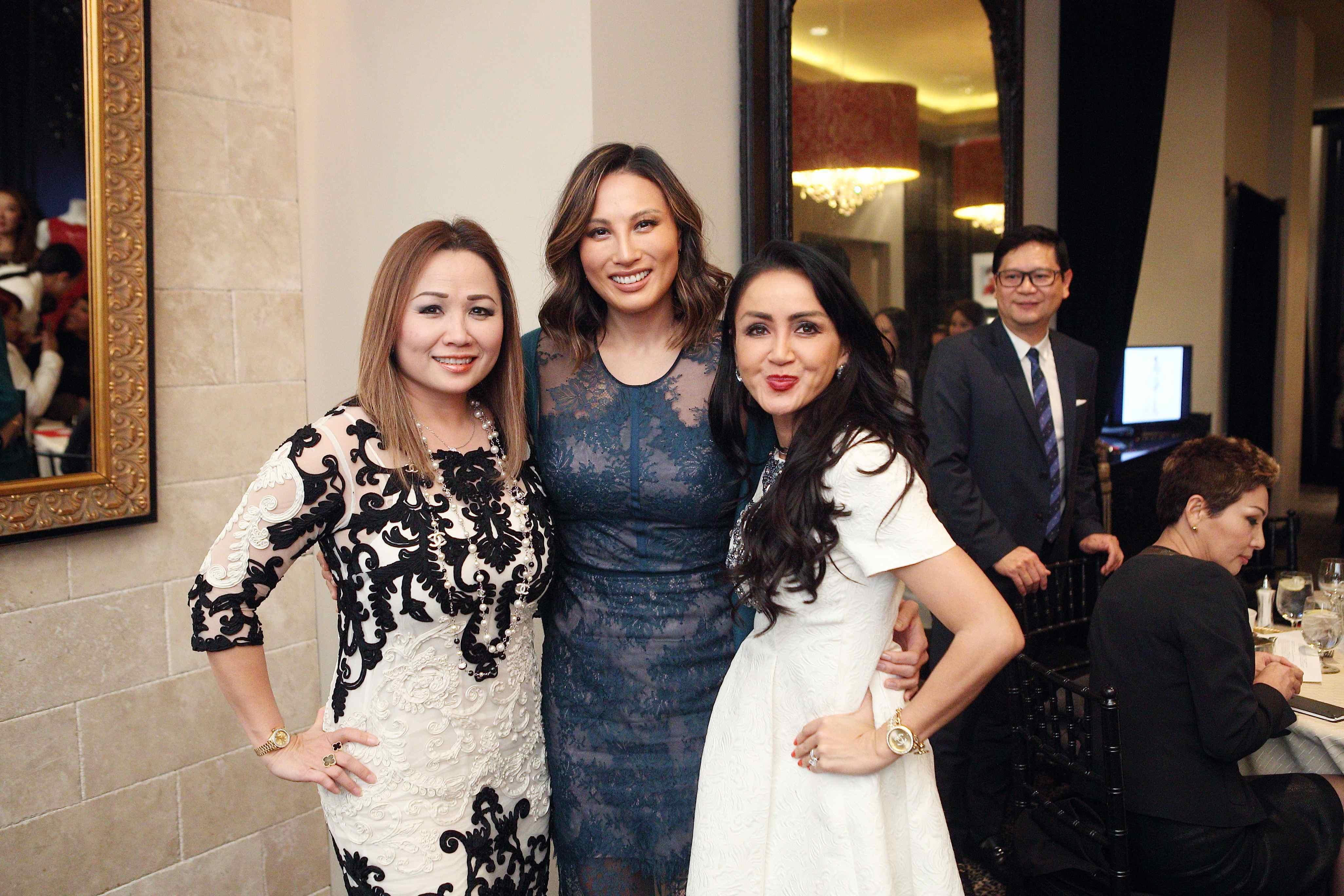 Andrea La, Mina Trinity Chang, Sandy Nikko