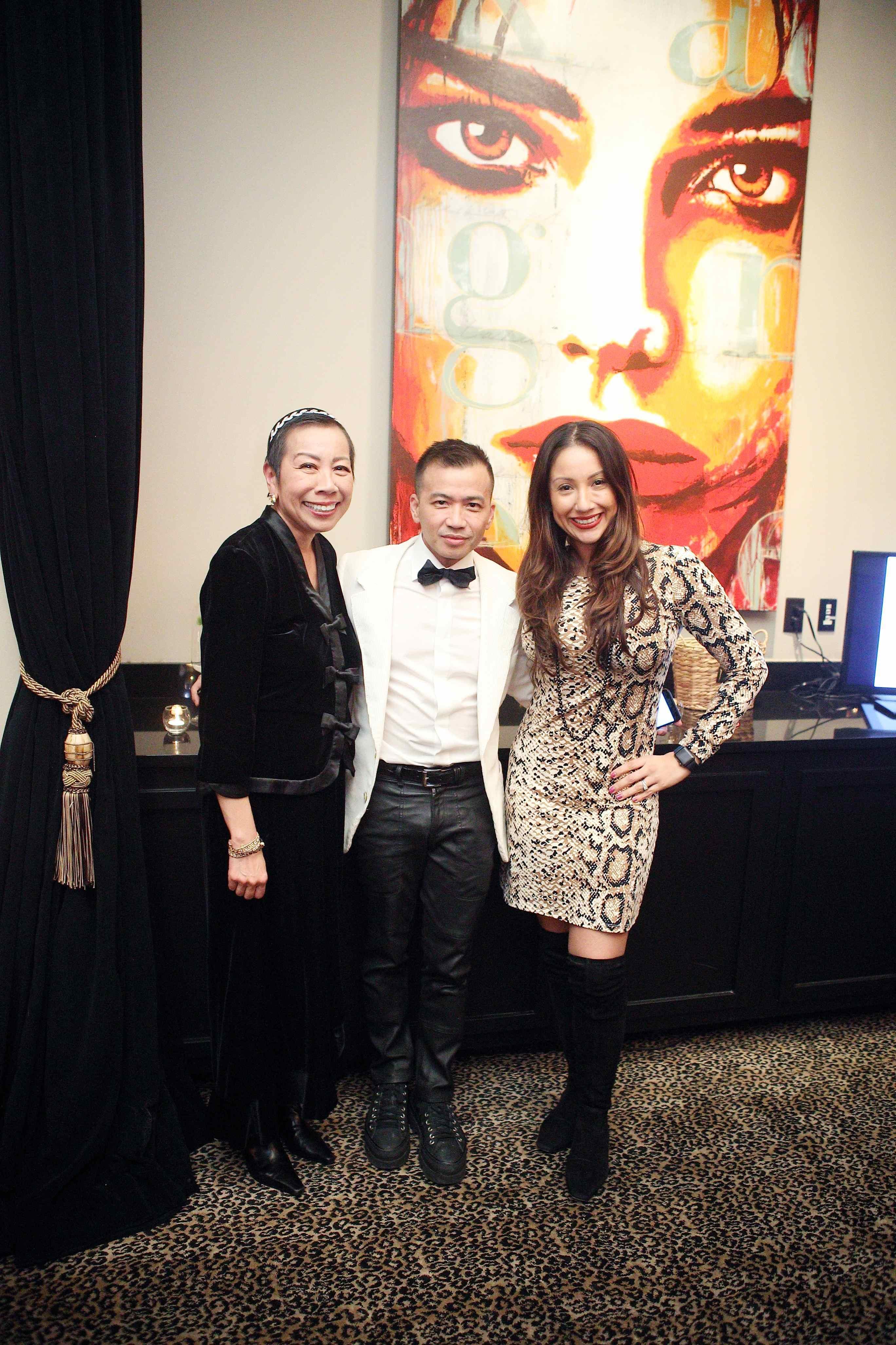 Jean Wilson, Viet Hoang, Nancy Almodovar